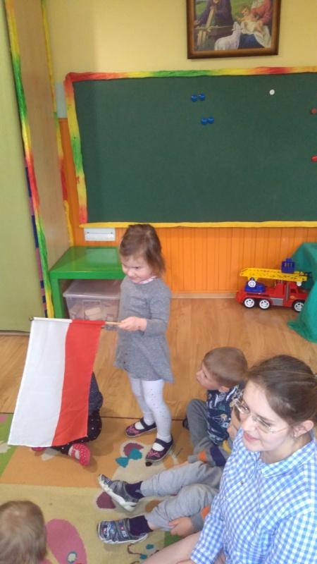 Zajęcia patriotyczne - grupa Maluszki