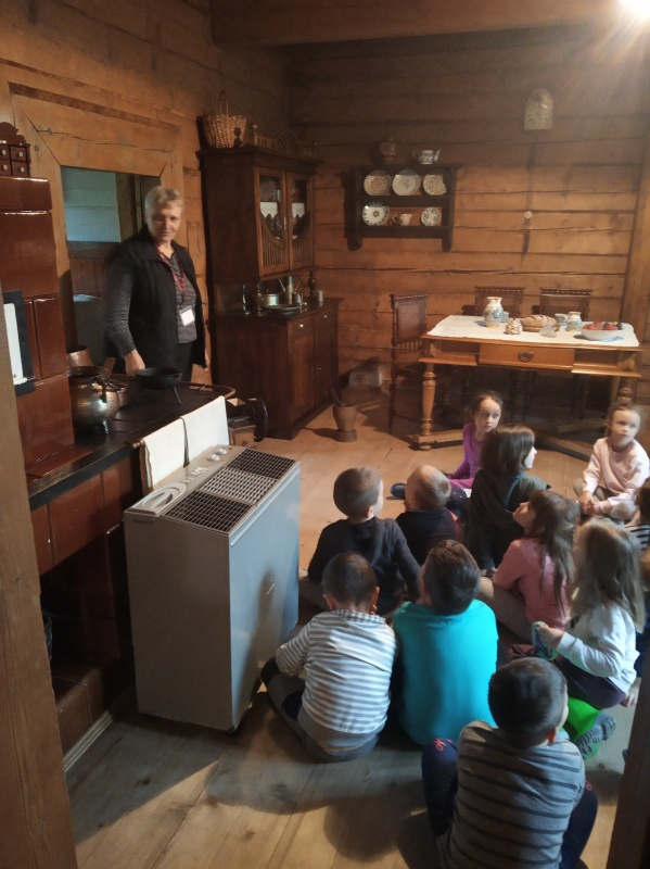 Zwiedzanie Domu Tkacza