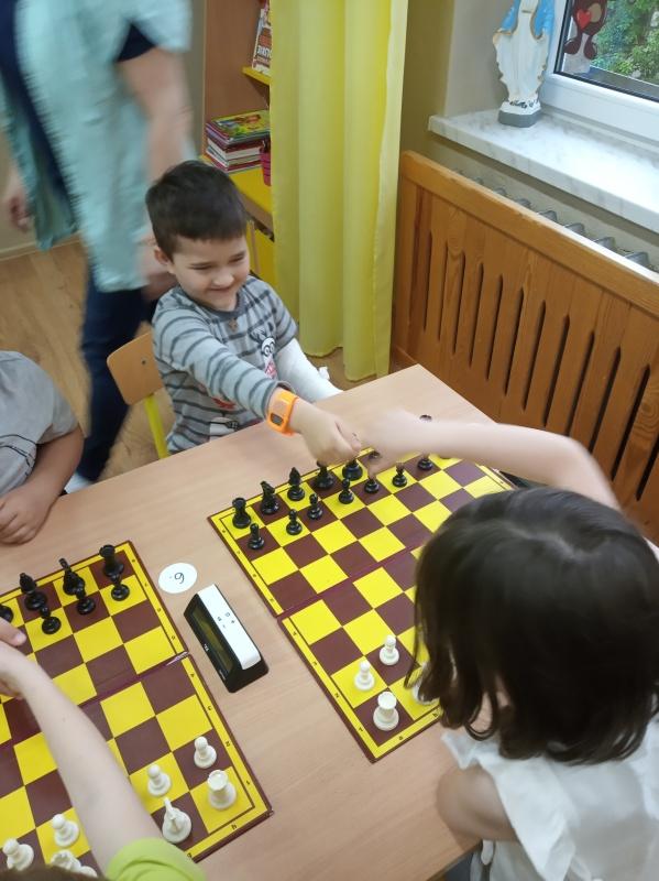Turniej szachowy (Starszaki)