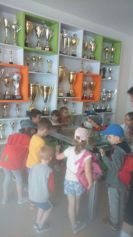 Wycieczka do klubu sportowego Rekord