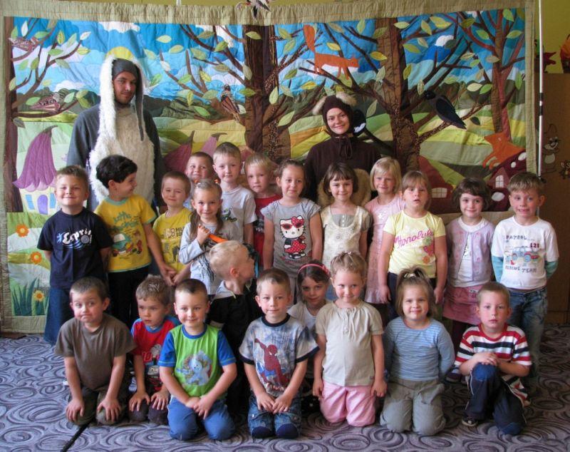 Dzień Dziecka - Grupa Starszaków