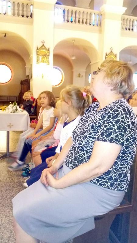 Msza Św. na rozpoczęcie roku przedszkolnego