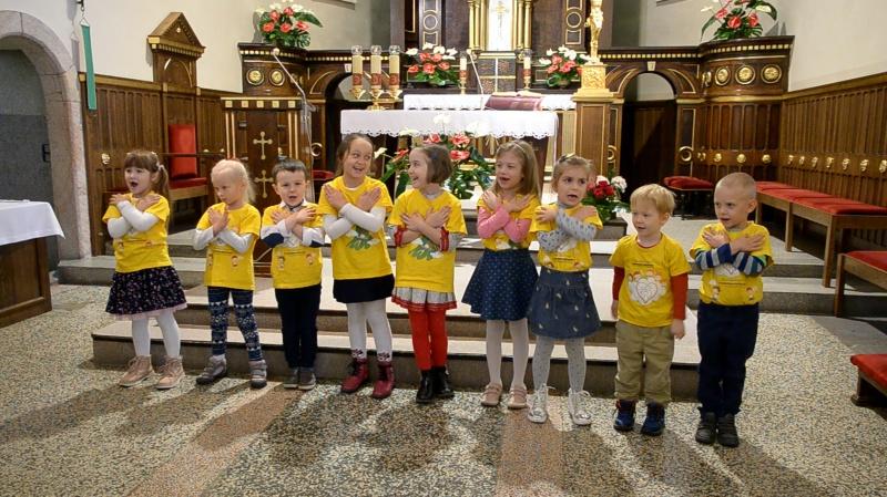 11 listopada - 100-lecie odzyskania Niepodległości przez Polskę - występ w kościele Św. Trójcy
