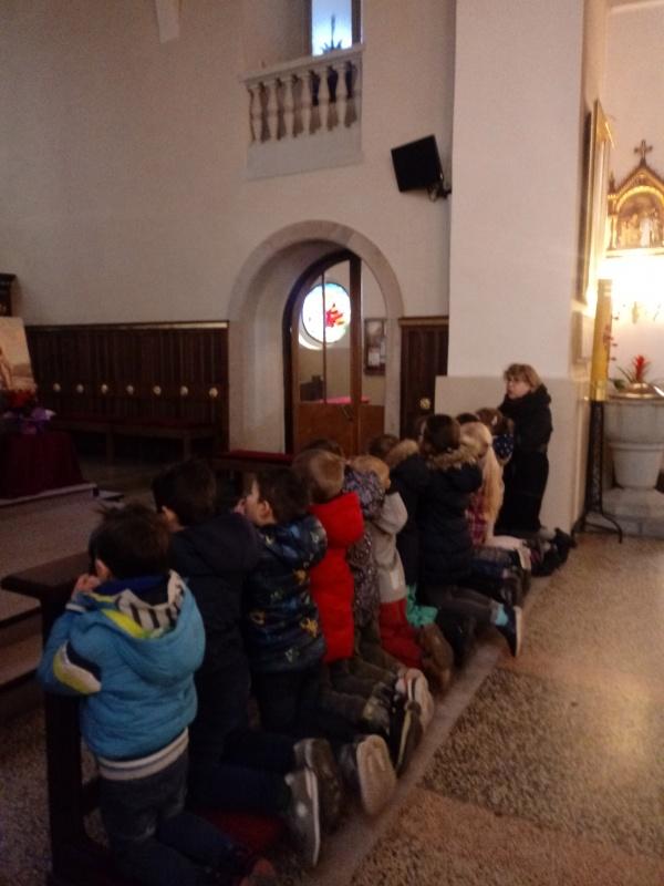 Droga krzyżowa w kościele Św. Trójcy (Starszaki)