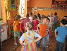 Dzień Dziecka - zabawy przy muzyce