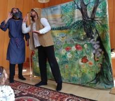 2018 Teatrzyk EDEN w Komorowicach - Odważny pastuszek