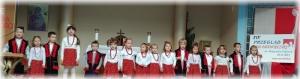 XIX przegląd Pieśni Patriotycznej im.Małgorzaty Papiurek (etap parafialny) Zdobyte 1-sze miejsce -)